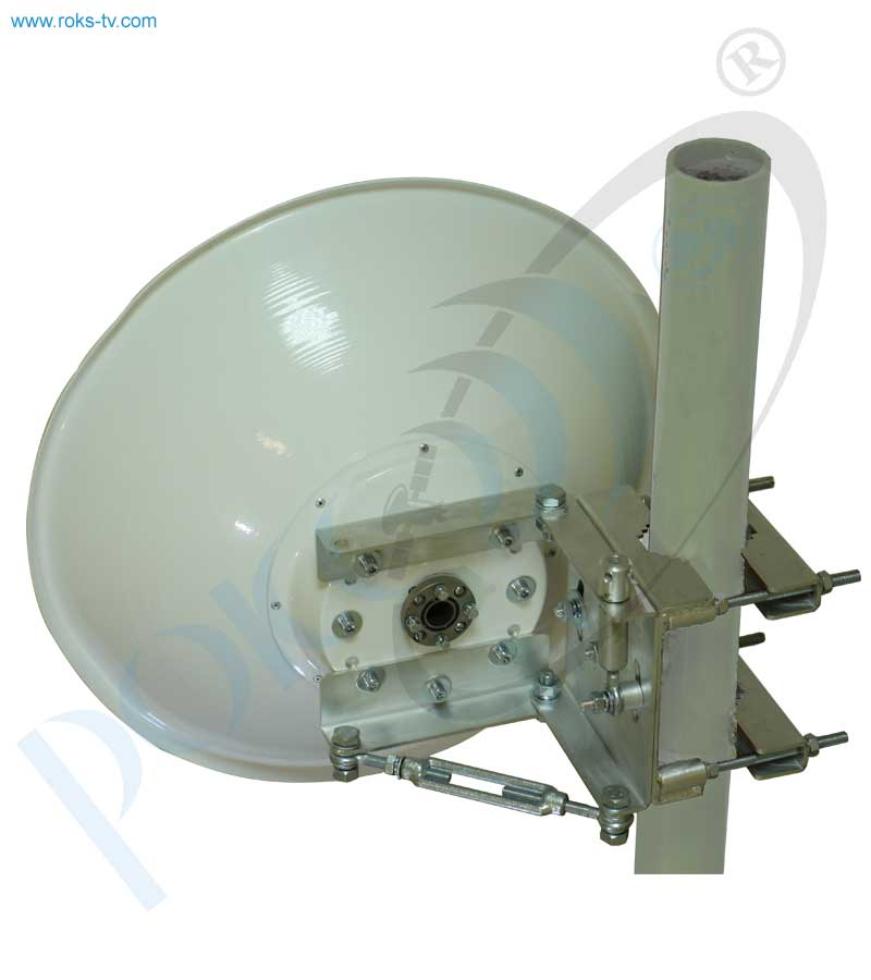 Double reflector link antenna 0.4m rear