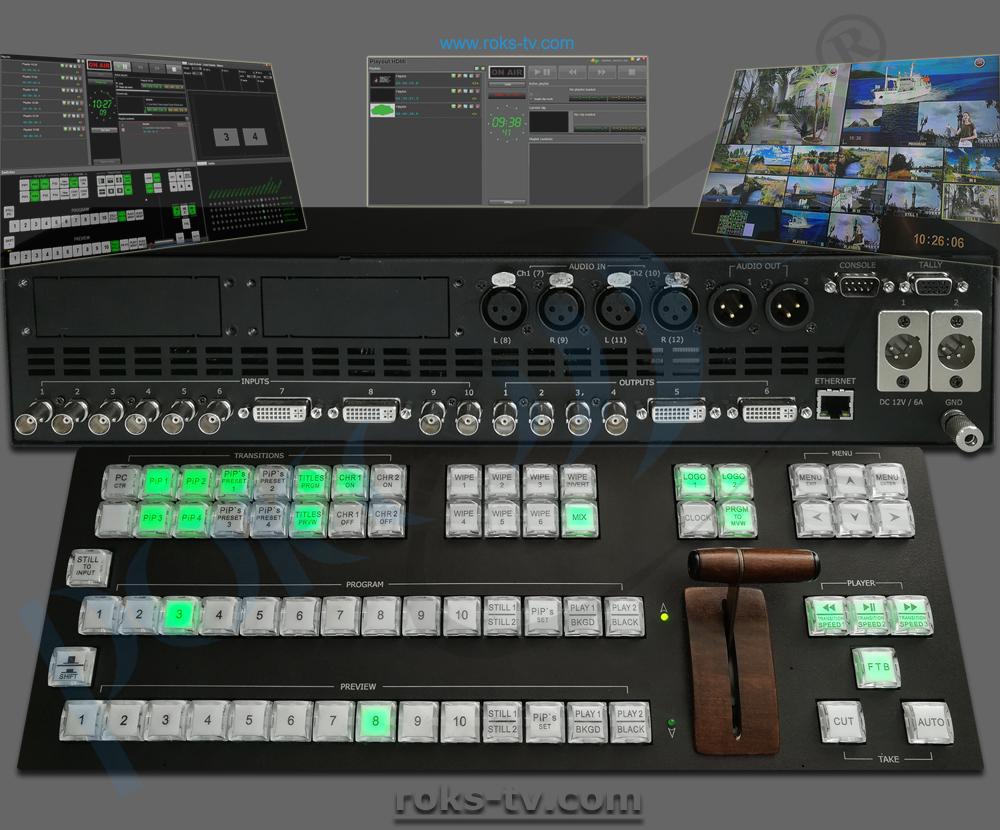 Video Mixer / Switcher HD - Roks