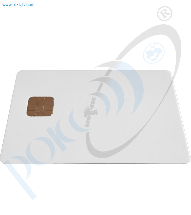 Subscriber cas card rear