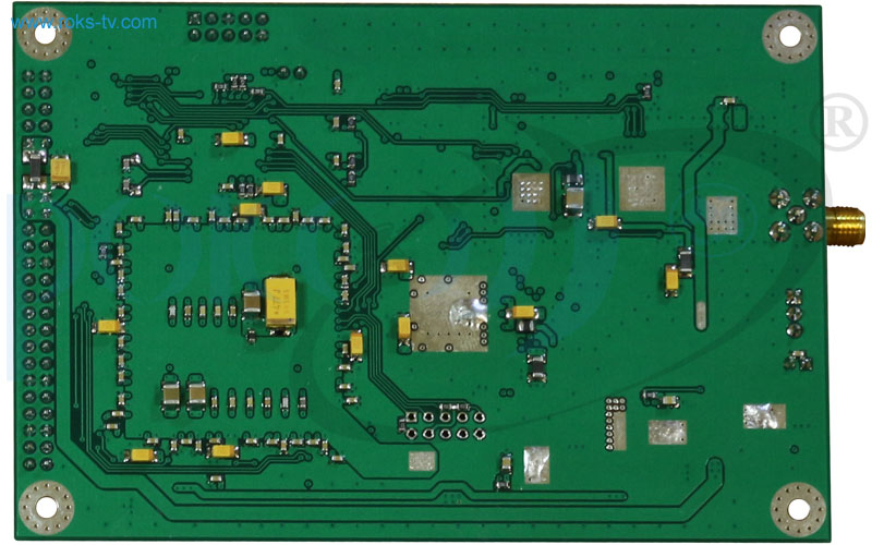Modulator board dvb s2 s bottom