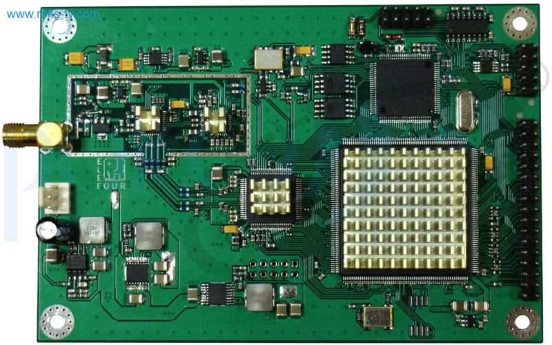 Modulator board dvb s2 s top