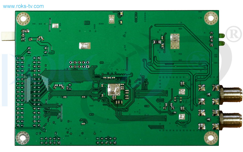 Receiver board dvb s s2 fta bottom