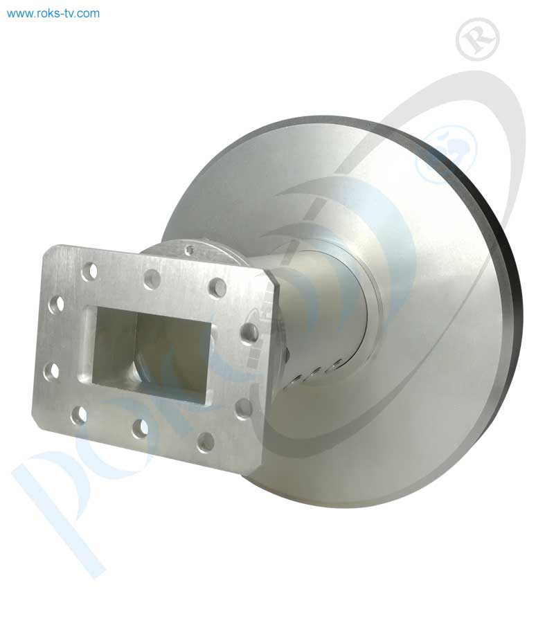 C band axial feed roks (flange)
