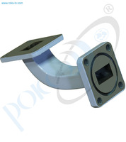 Thumb wr 75 waveguide smooth bend e plane