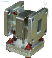 Thumb ku band waveguide isolator