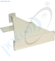 Thumb short sector antenna c band v pol 60 deg