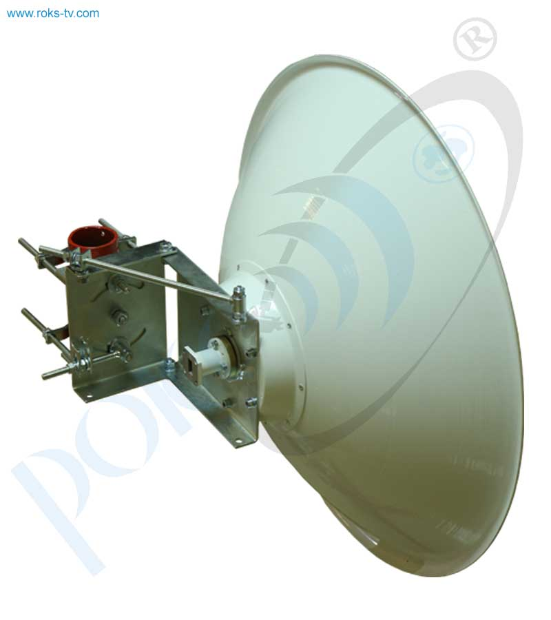Double reflector link antenna 0.6m